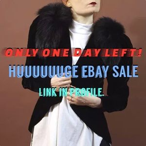 Other - Only ONE DAY LEFT for our New Year's eBay sale!